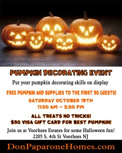 Pumpkin Event!