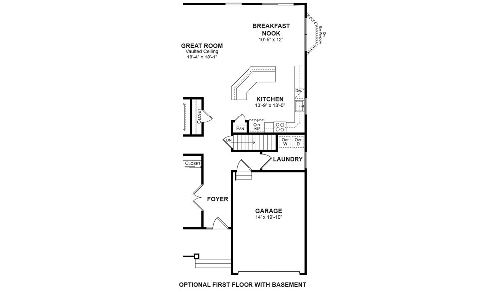 The laurel paparone homes of new jersey The laurels floor plan
