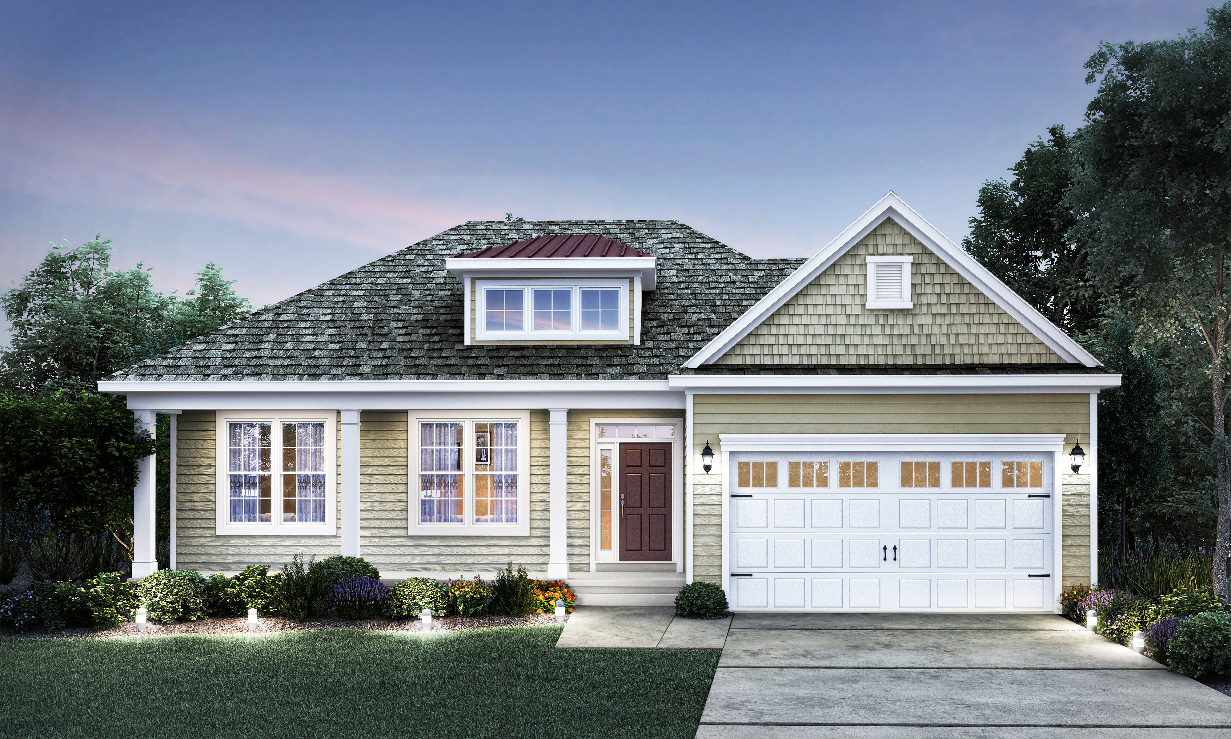 A31176 Paparone Homes - Laurel Traditional lightened